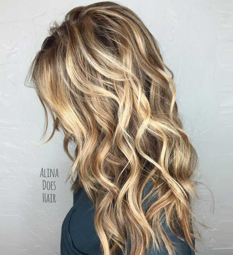 Long Beach Waves Hairstyle