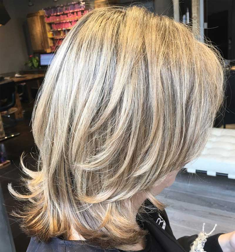 Haircut With Side Layers