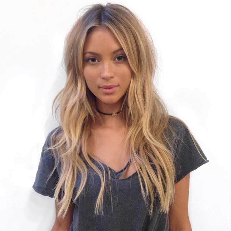 Multiple Layers Hairstyle