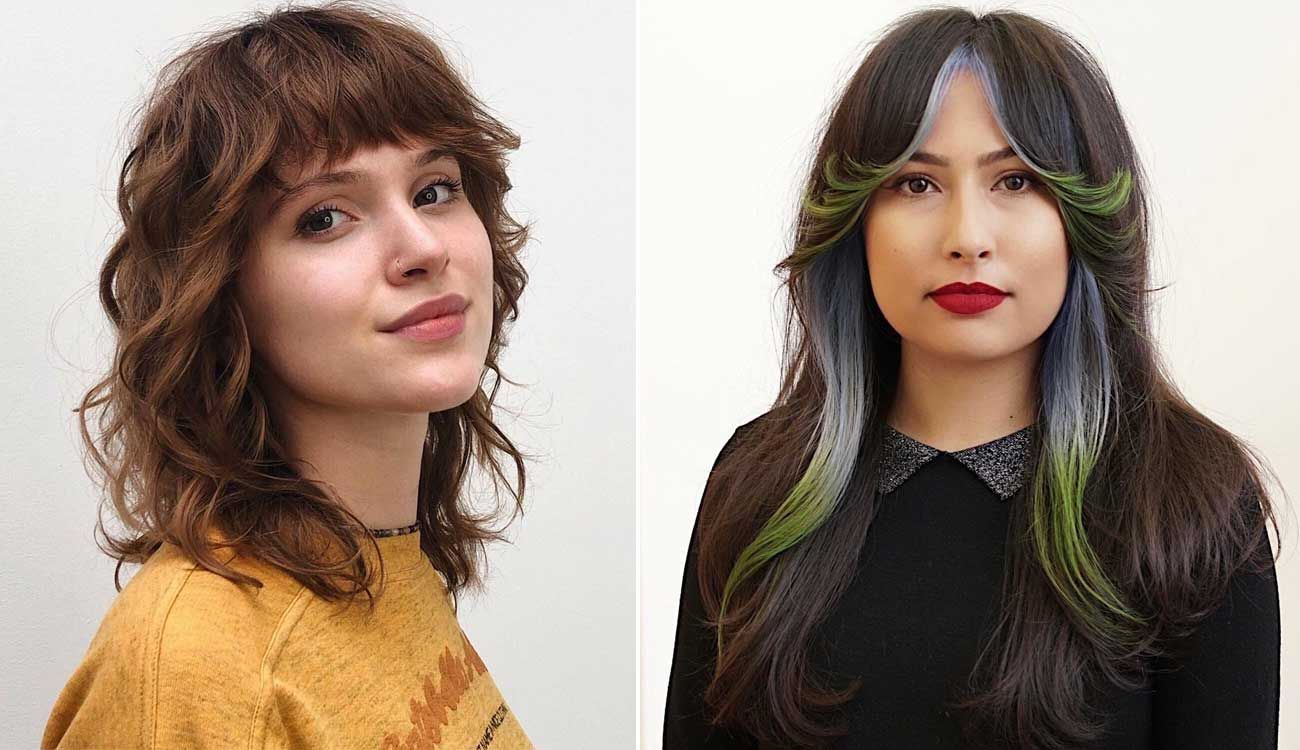 10 Trendy Hairstyles with Curtain Bangs